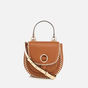 MICHAEL MICHAEL KORS Women's Isadore Medium Pebble Leather Messenger - Acorn