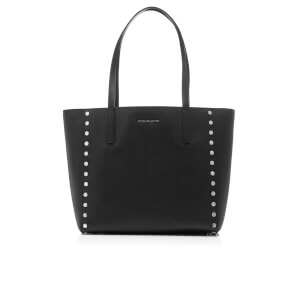 MICHAEL MICHAEL KORS Women's Rivington Stud Large Tote Bag - Black