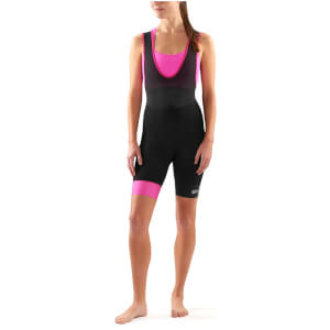 Skins Cycle DNAmic Women's Bib Shorts - Black/Magenta