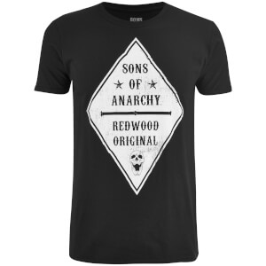 T-Shirt Homme Sons of Anarchy Skull Club - Noir
