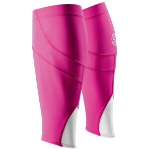Skins Essentials Unisex Calf Tights MX - Magenta