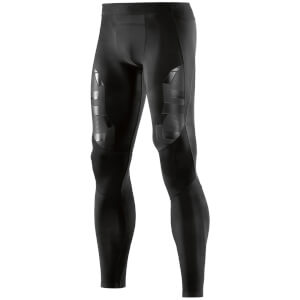 Skins A400 Men's Compression Long Tights - Oblique