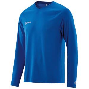 Skins Plus Men's Micron Long Sleeve Top - Ultrablue/Marle