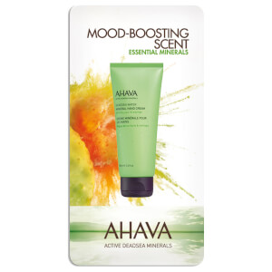 AHAVA Mineral Prickly Pear and Moringa Hand Cream Sachet 4ml (Free Gift)