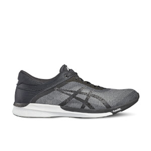 Asics Running Men's FuzeX Rush Running Shoes - Mid Grey/Black