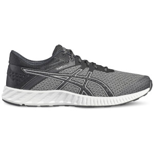 Asics Running Men's FuzeX Lyte 2 Running Shoes - Black/Silver