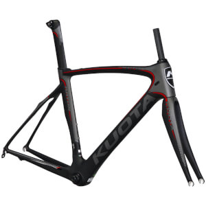 Kuota Kryon Carbon Frameset - Grey/Red