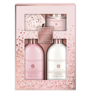 Baylis & Harding Pink Prosecco & Cassis Benefit 4 Piece Set