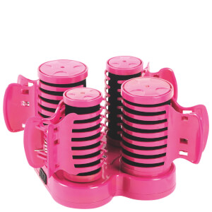 Carmen C85005 Girls Hair Roller Set - Pink