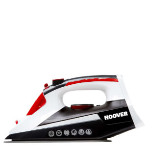 Hoover TIM2500CA 2500W Jet Steam Iron - Black/Red