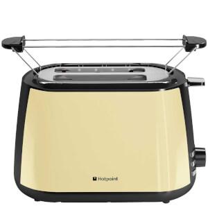 Hotpoint TT22MDC0LUK MyLine 2 Slice Toaster - Cream