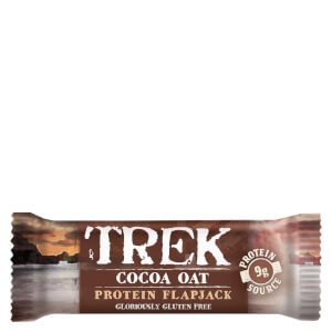 Trek Cocoa & Oat Protein Flapjack