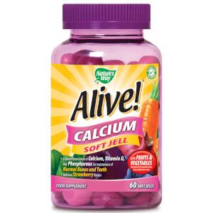 Nature's Way Alive! Calcium Soft Jells - 60 Soft Jells