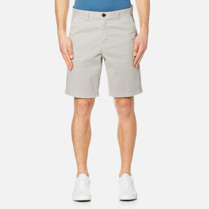 Michael Kors Men's Slim Garment Dye Shorts - Ice Grey