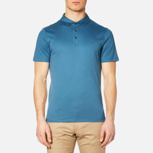 Michael Kors Men's Sleek Mk Polo Shirt - Shadow Blue