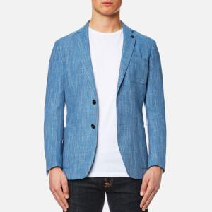 Michael Kors Men's Wool Linen Blazer - Bay