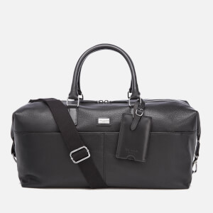 Ted Baker Men's Tiger Leather Holdall - Black