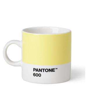 Pantone Espresso Cup - Light Yellow 600