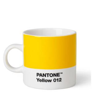Pantone Espresso Cup - Yellow 012