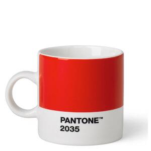 Pantone Espresso Cup - Red 2035