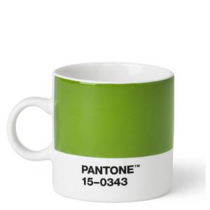 Pantone Espresso Cup - Green 15-0343