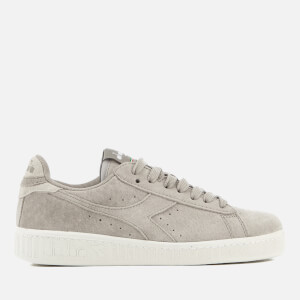Diadora Women's Game Low S Suede Trainers - Grey Silver