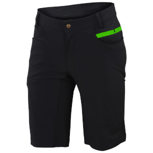Sportful Giara Over Shorts - Black