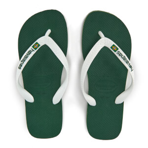 Havaianas Brasil Logo Flip Flops - Amazonia
