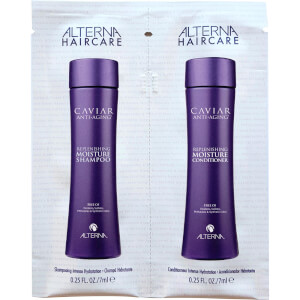 Alterna Caviar Moisture Shampoo & Conditioner Duo Packette (Free Gift)