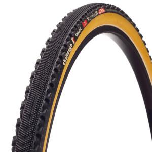Challenge Chicane Tubular Cyclocross Tyre - Black/Tan - 700c x 33mm