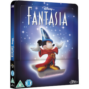 Fantasia - Zavvi UK Exclusive Lenticular Edition Steelbook