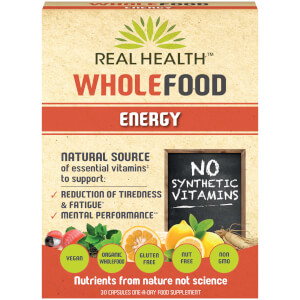 Real Health Whole Food Energy - 30 Capsules