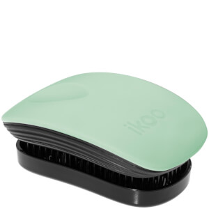 ikoo Pocket Hair Brush - Black - Ocean Breeze