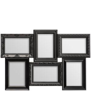 6 Photo Frame - Black
