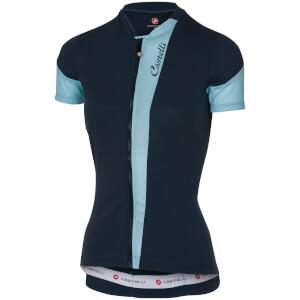 Castelli Women's Spada Jersey - Midnight Navy/Pale Blue