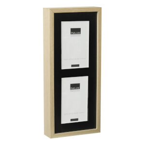 Parlane Solna Wooden Frame - Black/Natural (27 x 22cm)