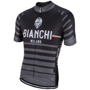 Bianchi Albatros Short Sleeve Jersey - Black