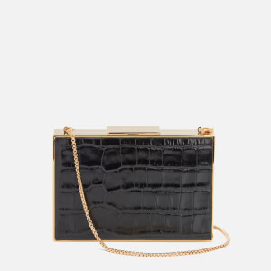 Aspinal of London Women's Scarlett Box Clutch Bag - Black