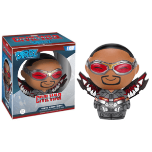 Figurine Dorbz Marvel: Captain America CW: Falcon