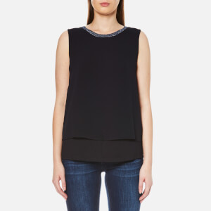 BOSS Orange Women's Topia Top - Dark Blue