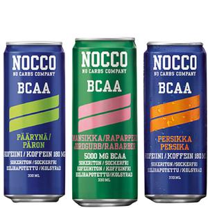 NOCCO BCAA, 4 x 330ml