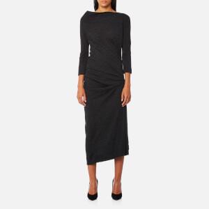 Vivienne Westwood Anglomania Women's Taxa Jersey Dress - Grey