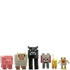 Groupe d'Animaux Minecraft