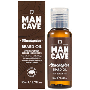 ManCave Beard Oil - Blackspice 50 ml