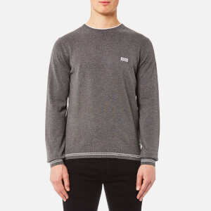 BOSS Green Men's Rime Jumper - Mid Melange