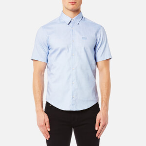 BOSS Green Men's Busterino Shirt - Blue
