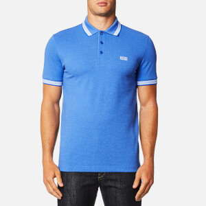BOSS Green Men's Paddy Polo Shirt - Victoria Blue