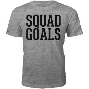 Männer Squad Goals T-Shirt - Grau