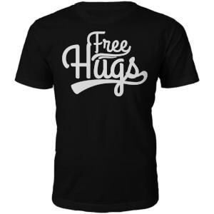 Free Hugs Herren T-Shirt - Schwarz