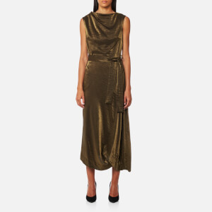 Vivienne Westwood Anglomania Women's Vasari Dress - Gold